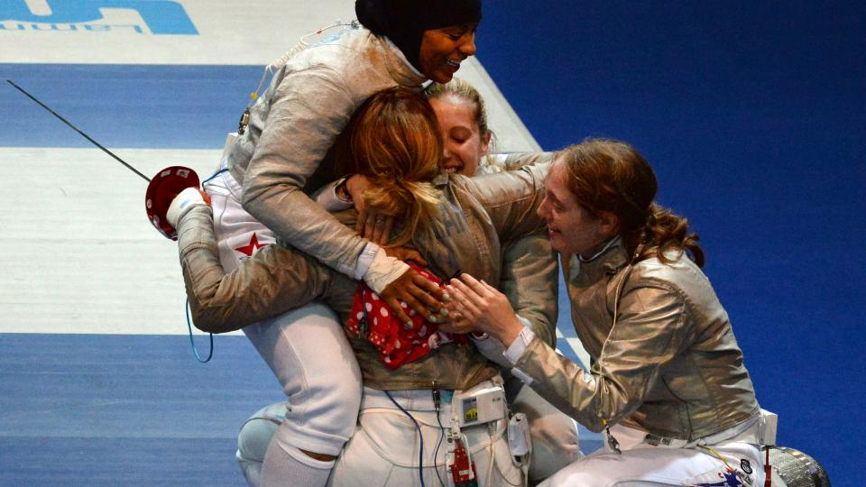 United States women win sabre gold at World Fencing Championships