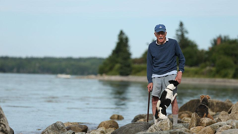 Now 93, Roger Angell has been associated with The New Yorker for most of his life, but these days he can often be found in Maine.