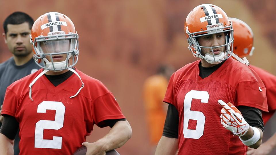 Browns to name starting quarterback by third preseason game