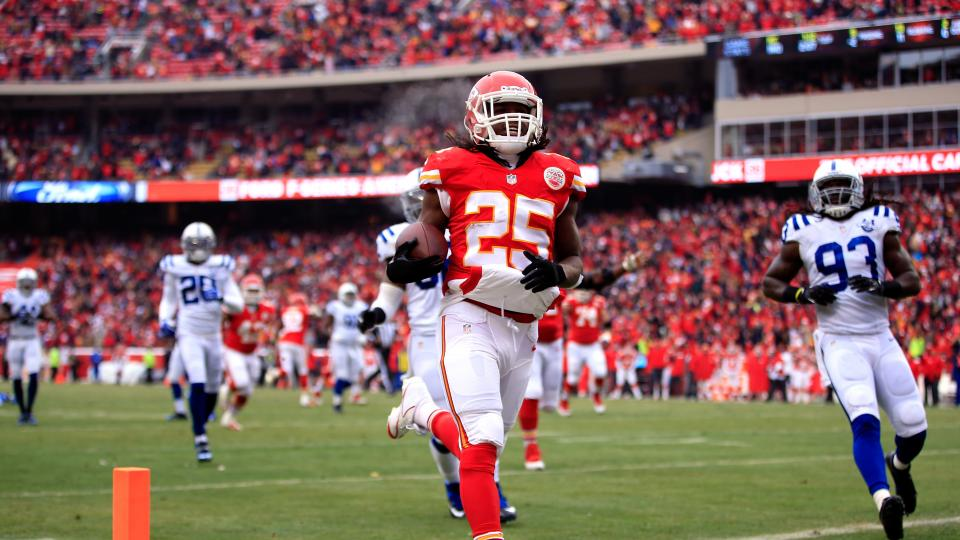 Report: Chiefs running back Jamaal Charles plans to hold out
