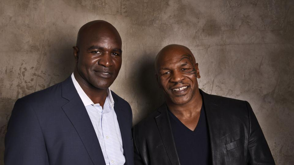 Report: Mike Tyson to present Evander Holyfield at Hall of Fame induction
