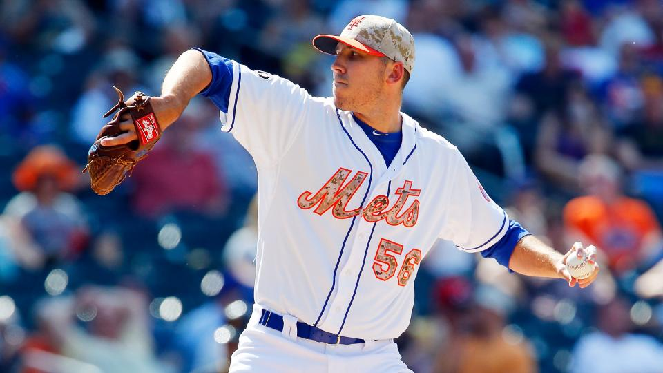 Report: Mets' Scott Rice to undergo season-ending elbow surgery