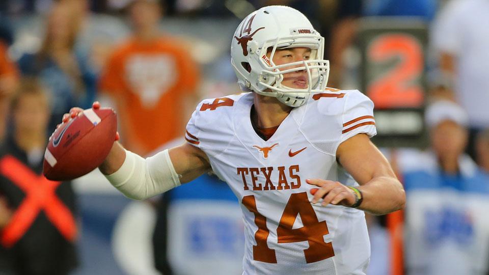 Texas quarterback David Ash out vs. BYU due to concussion symptoms
