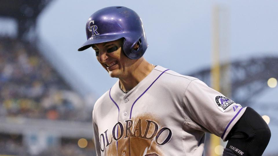 Rockies place Troy Tulowitzki on DL with hip flexor strain