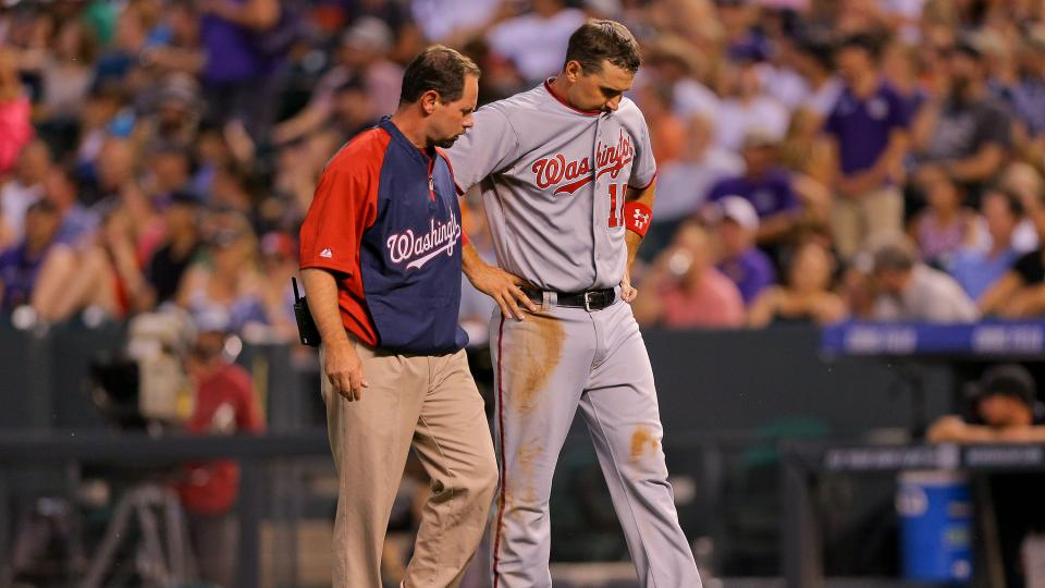 Report: Ryan Zimmerman to undergo MRI following early exit vs. Rockies