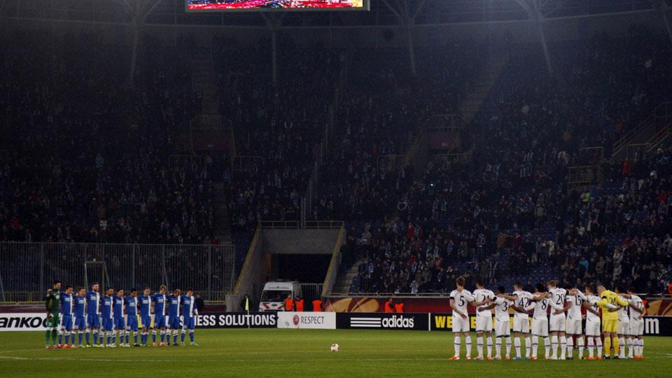 UEFA moves Champions League game out of eastern Ukraine