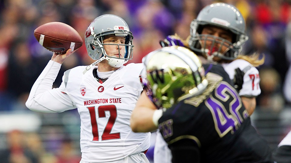 Behind Connor Halliday, Washington State hoping to make Pac-12 push