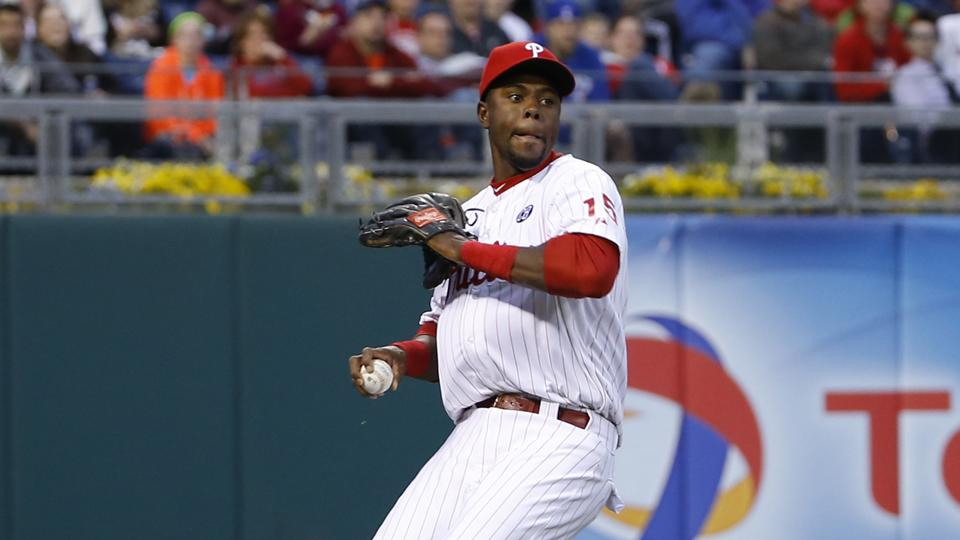 Phillies place John Mayberry Jr. on 15-day DL with inflamed wrist