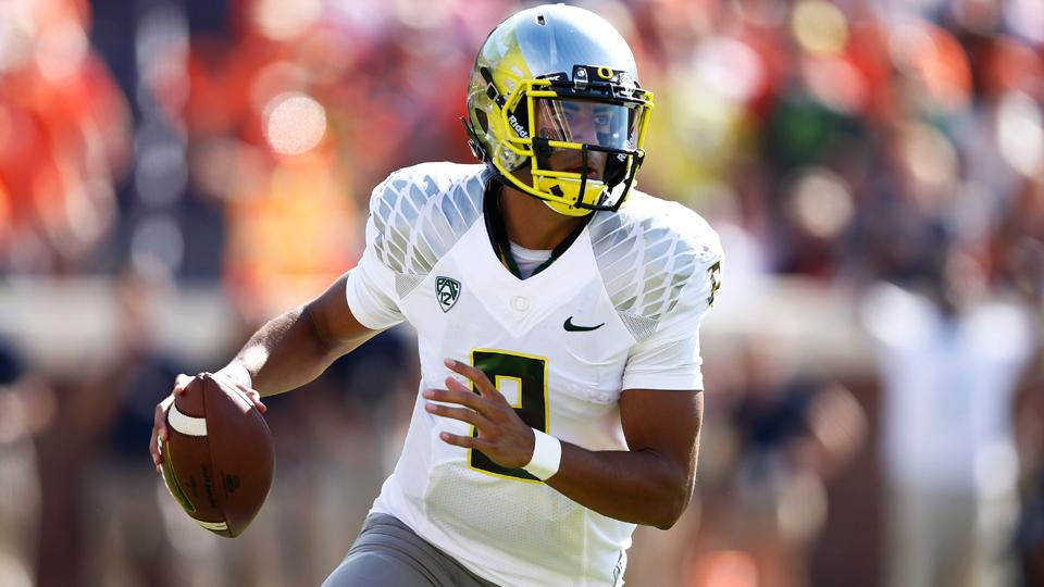Oregon's Marcus Mariota says he took out insurance policy