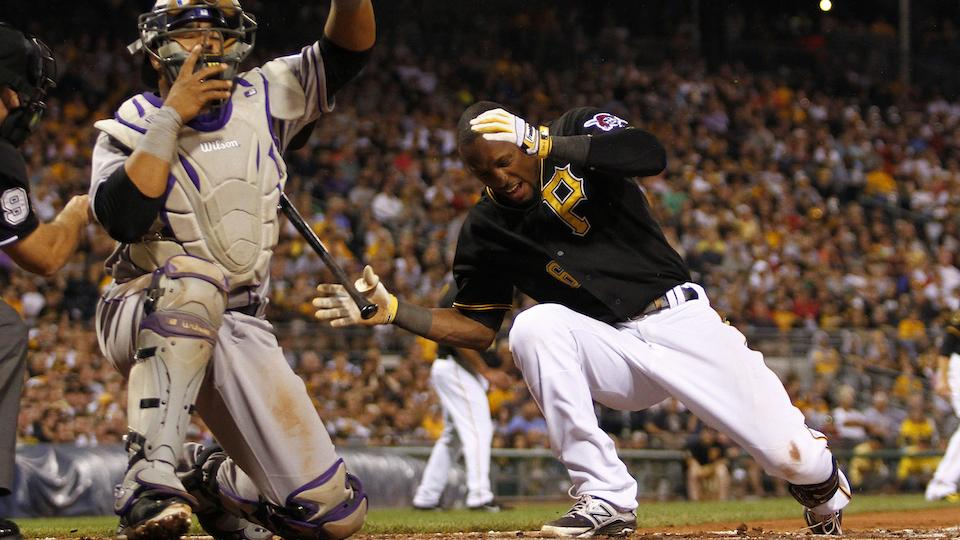 Starling Marte heads to seven-day concussion disabled list