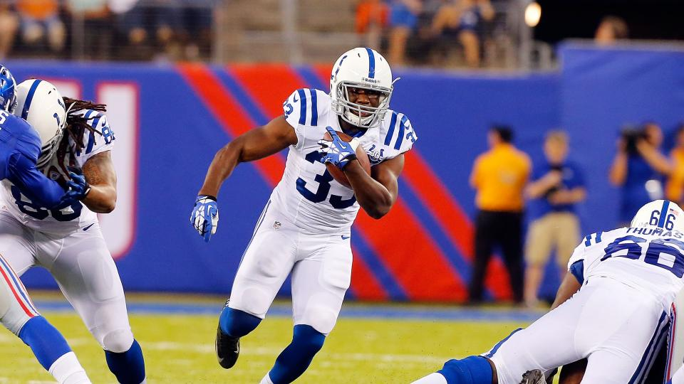 Vick Ballard reports to Colts camp, says he passed his physical