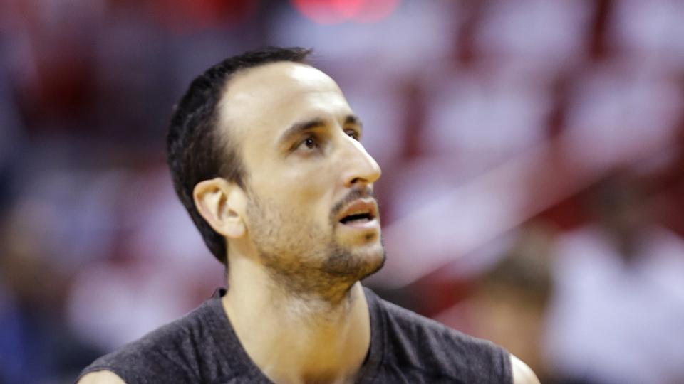 Spurs guard Manu Ginobili 'optimistic' about playing in FIBA World Cup