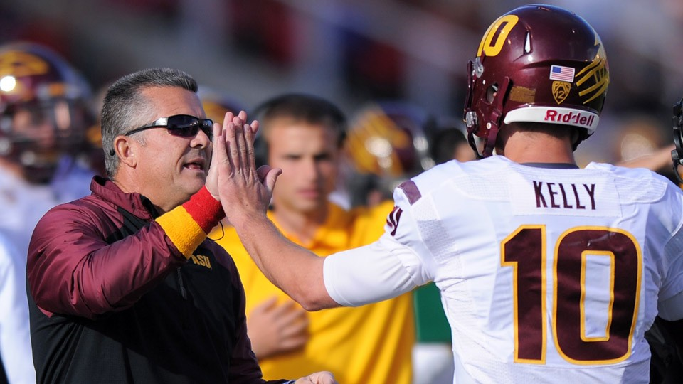 With sense of stability, Todd Graham building a contender at Arizona State