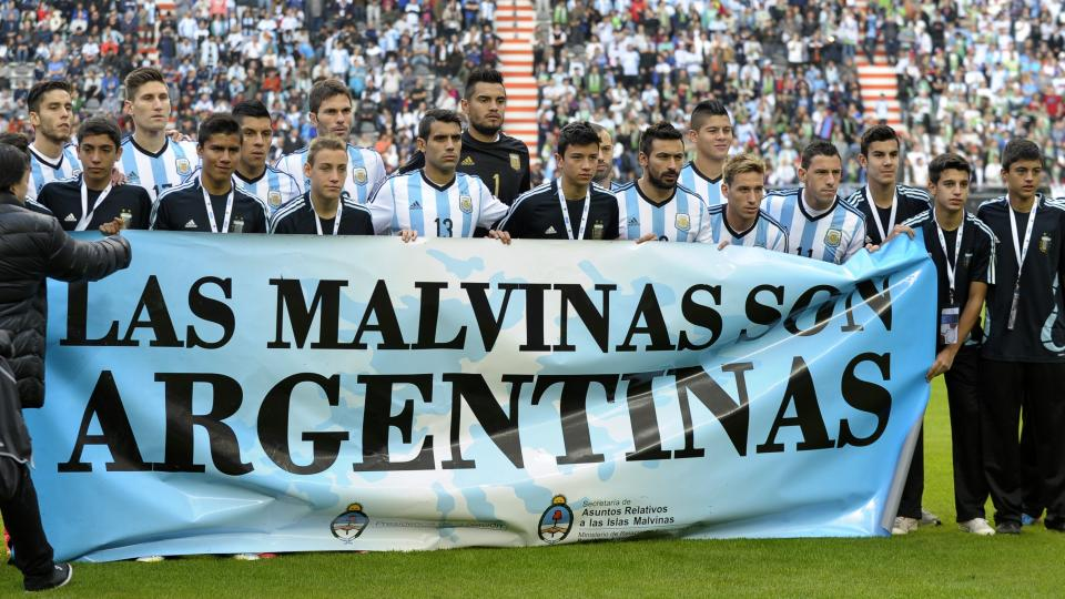 Argentine football association fined $33,000 for political banner