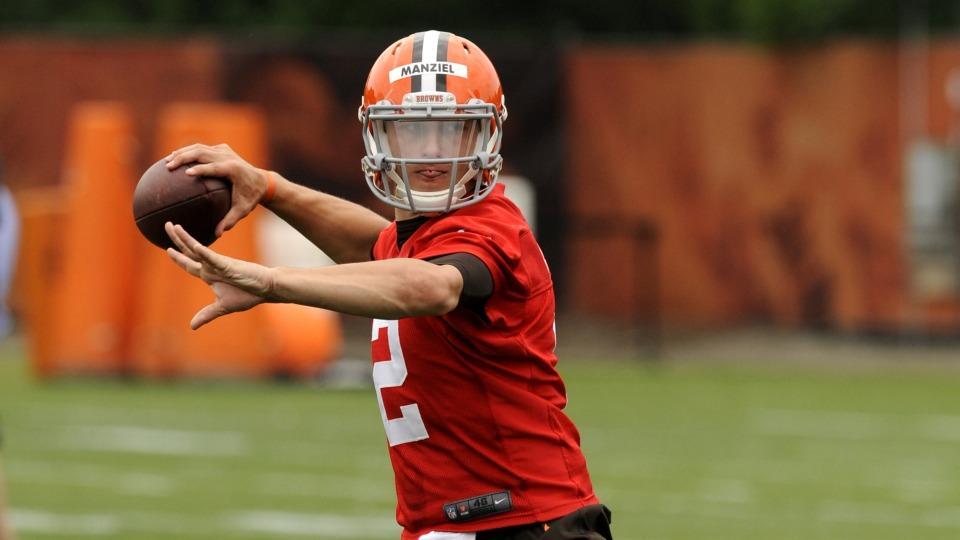 Browns' Johnny Manziel admits 'rookie mistakes'