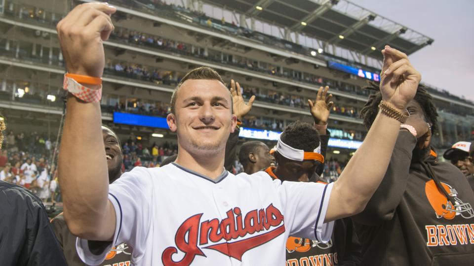 Johnny Manziel says he's excited to have LeBron in Cleveland