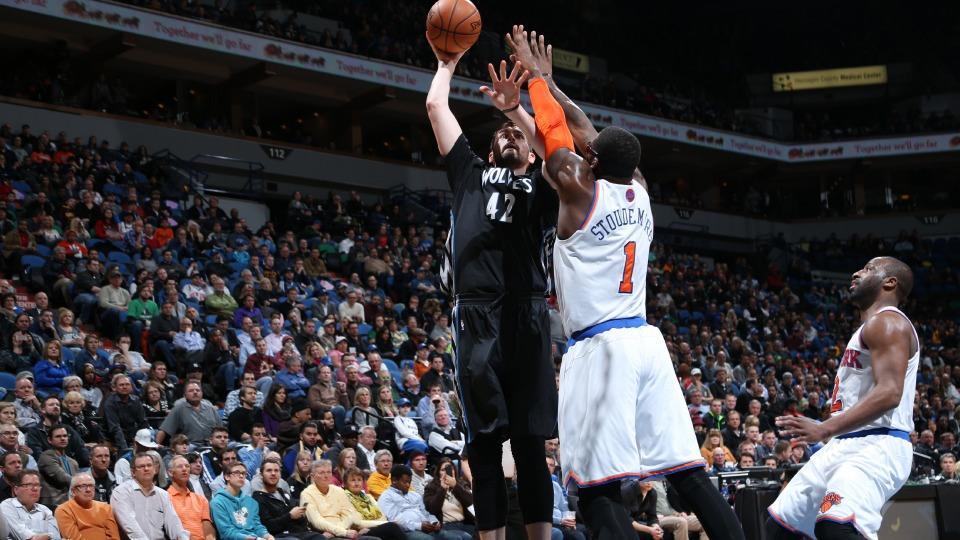 Report: Timberwolves balk at Knicks' offer for Kevin Love