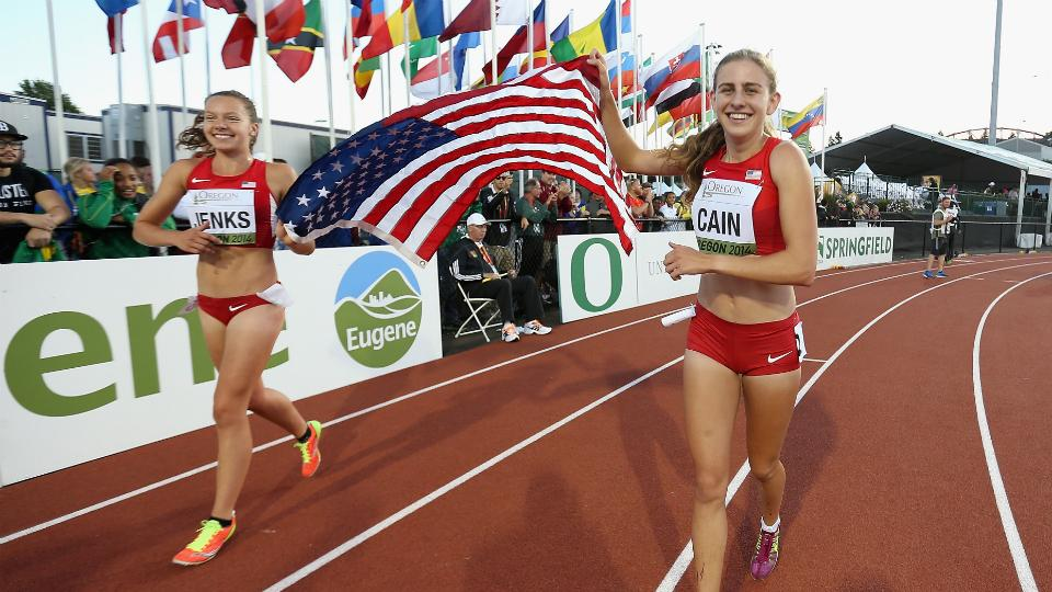 Mary Cain wins gold in 3,000 meters at World Junior Championships
