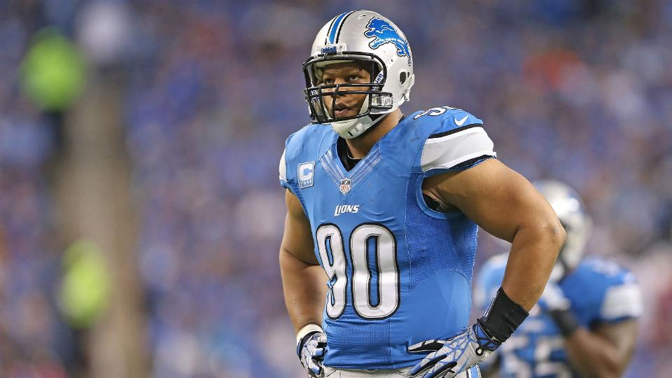 Report: Lions 'not optimistic' about signing Ndamukong Suh to new deal
