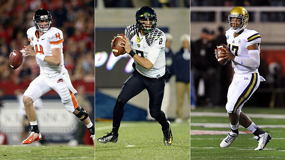 Conference of quarterbacks: Mariota, Hundley lead crop of Pac-12 passers