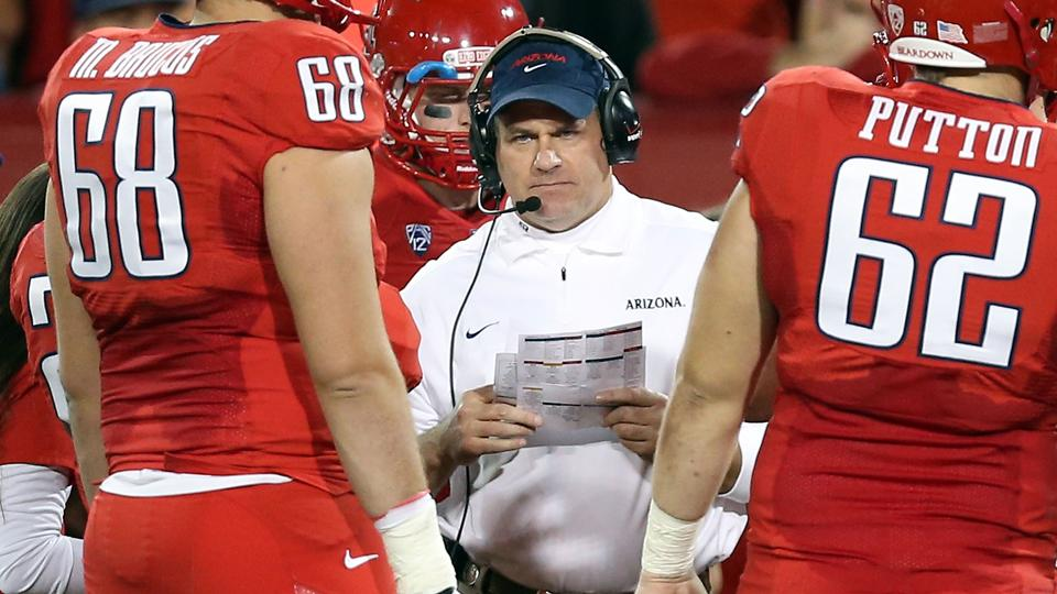 Arizona coach Rich Rodriguez on pace of play: 'Cry me a river'