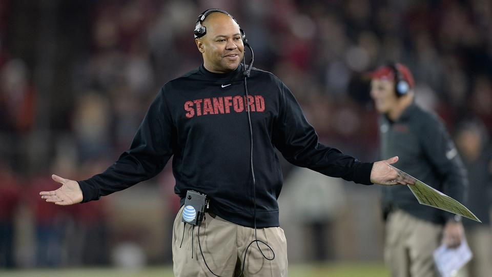 Stanford coach David Shaw comments on college sports issues