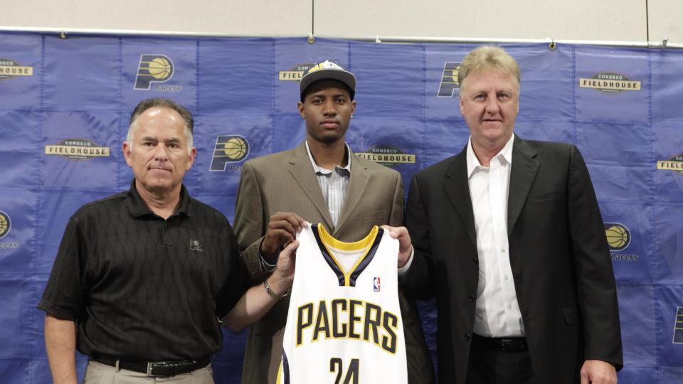 Paul George's favorite memory from rookie year? His coach getting fired