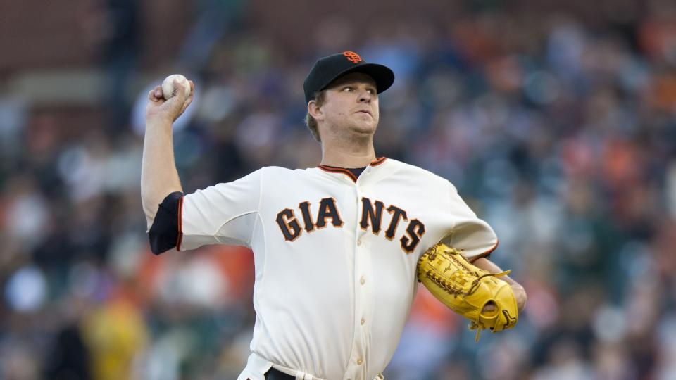 Report: Giants pitcher Matt Cain could be done for season