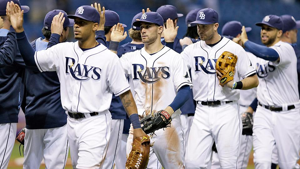Rays back in the playoff discussion after ninth win in a row