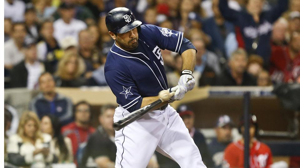 Padres to place Carlos Quentin on 15-day DL with sore knee