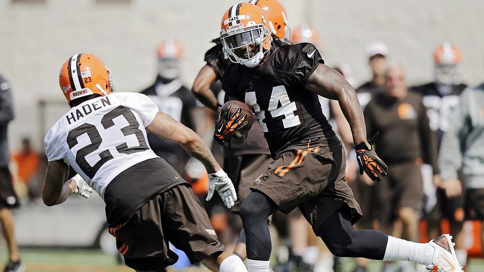 Ben Tate driven to stick as primary back at center of Browns' young core