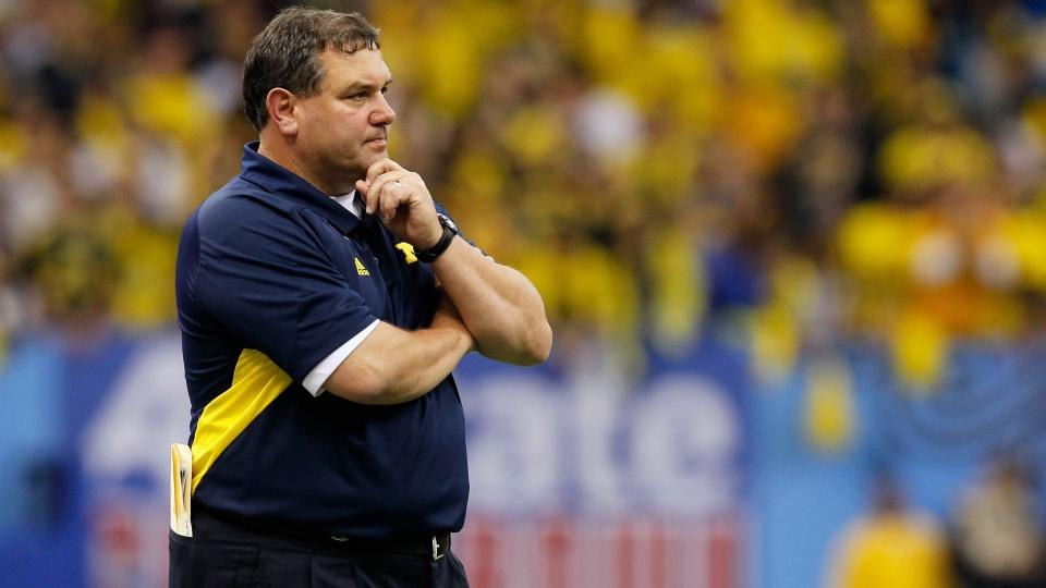 Michigan's Brady Hoke says he isn't concerned about his job status