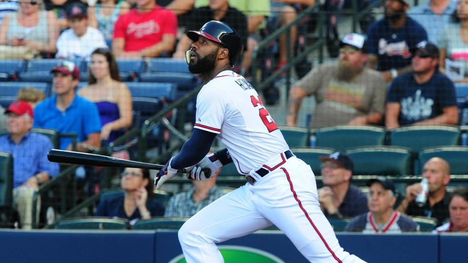 Braves outfielder Jason Heyward day-to-day with back soreness