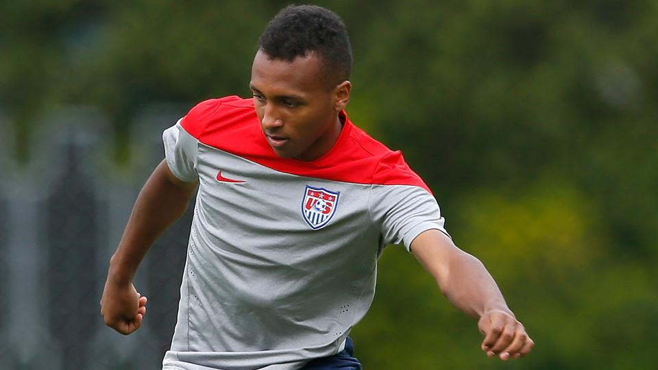 USA's Julian Green is hoping to break through at Bayern Munich's first team despite heavy competition at his positions.