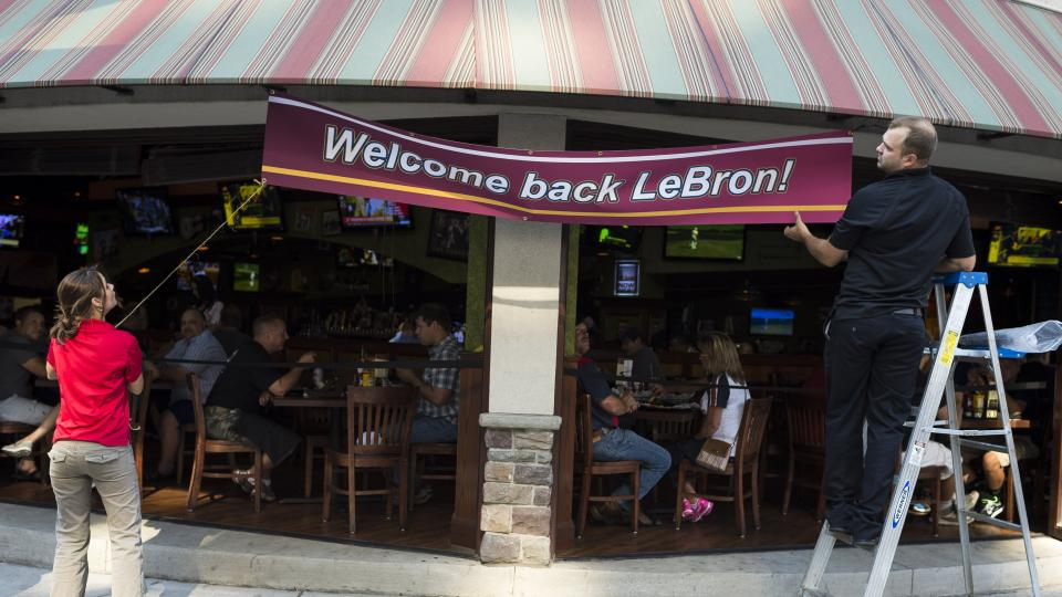 Tickets to LeBron James homecoming event sell out in hours