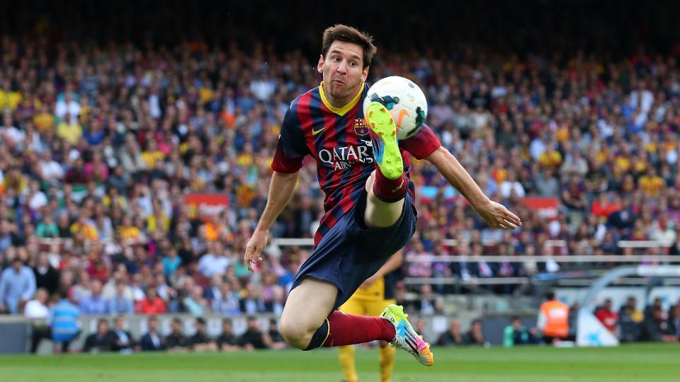 FC Barcelona's Lionel Messi