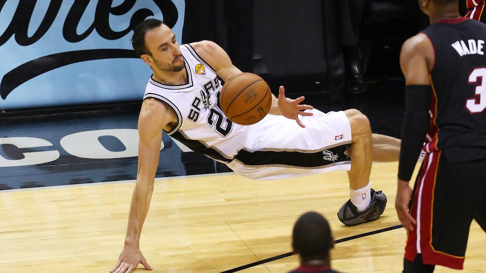 Spurs deny injured Manu Ginobili permission to play in FIBA World Cup