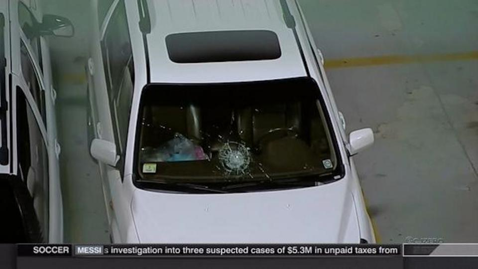 Melky Cabrera jacks mammoth homer, obliterates car windshield