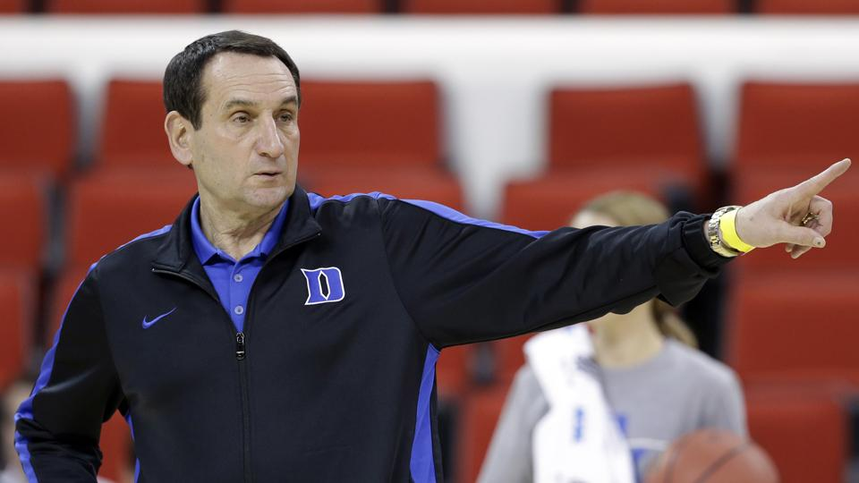 Duke's Coach K: 'I do not see an end of my road in my college coaching'