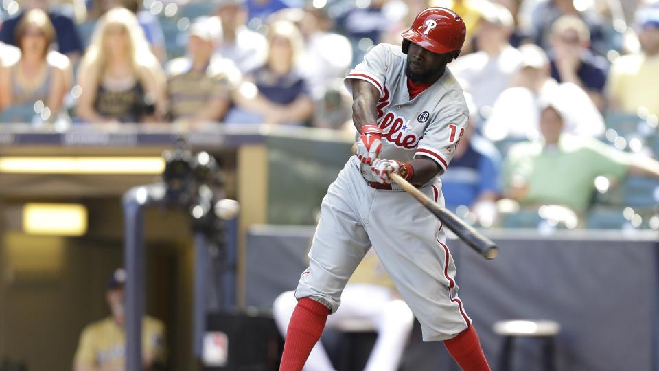 Philadelphia Phillies release outfielder Tony Gwynn Jr.