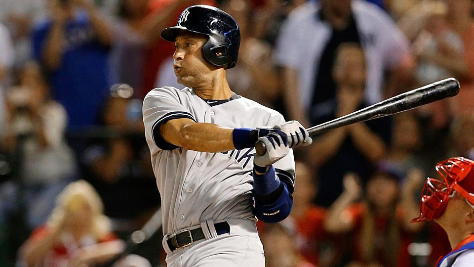New York Yankees' shortstop Derek Jeter continues to climb the Major League Baseball record books, as he now sits seventh all-time in hits.