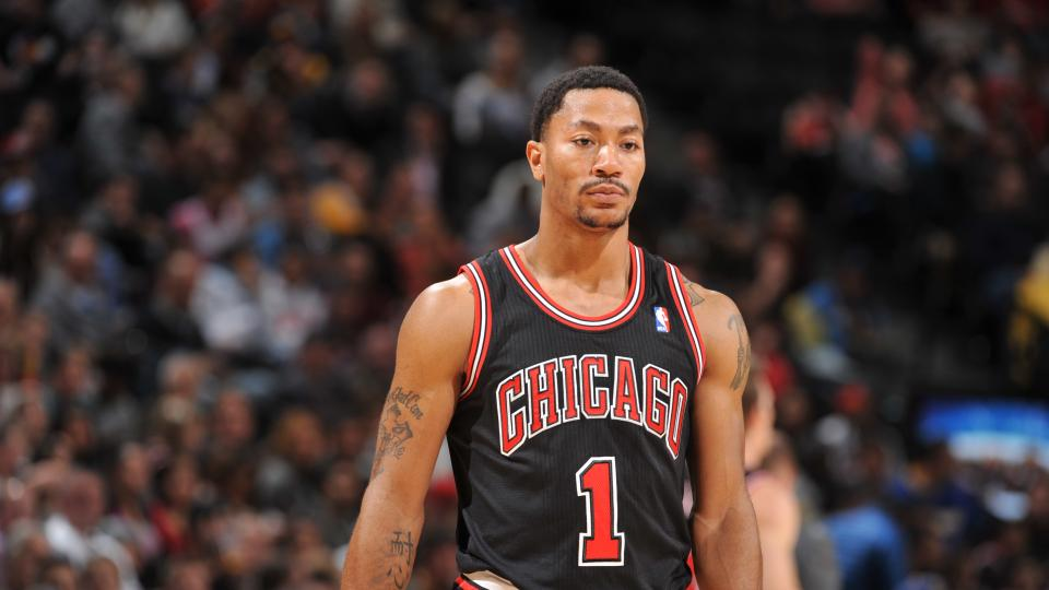 Derrick Rose acknowledges 'tension' with Bulls during 'Melo recruitment
