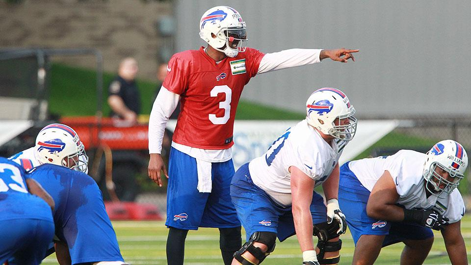 Second-year starter Manuel holds key to breakout season for Watkins, Bills