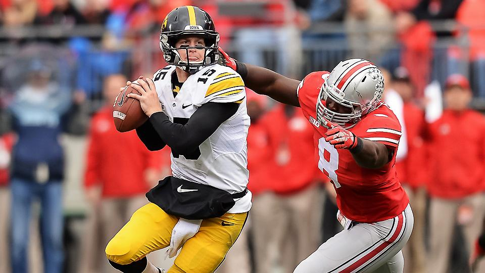 After passing for 2,383 yards and 18 touchdowns last season, could Jake Rudock be poised to break out in 2014?