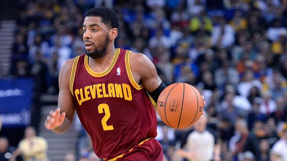 Cavaliers guard Kyrie Irving says he hasn't been a leader