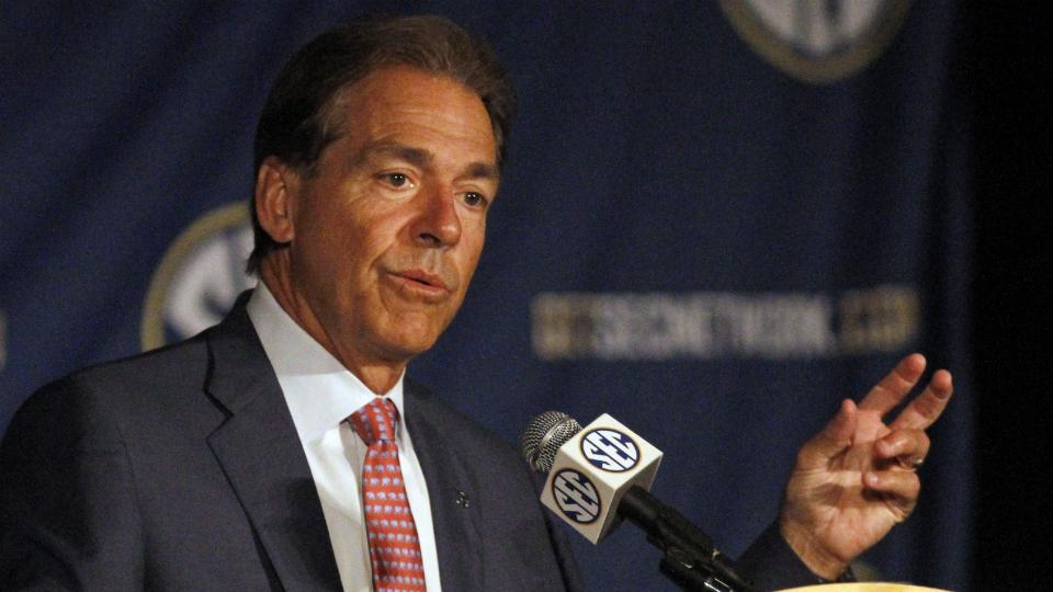 Alabama named heavy betting favorite to win SEC