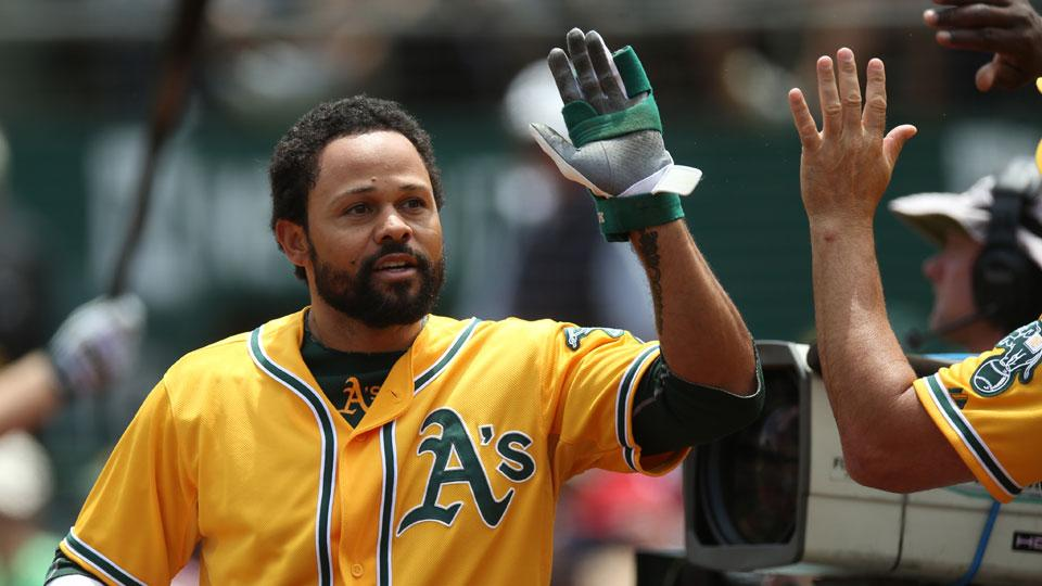 Coco Crisp has 'chronic, degenerative changes' in neck from collision