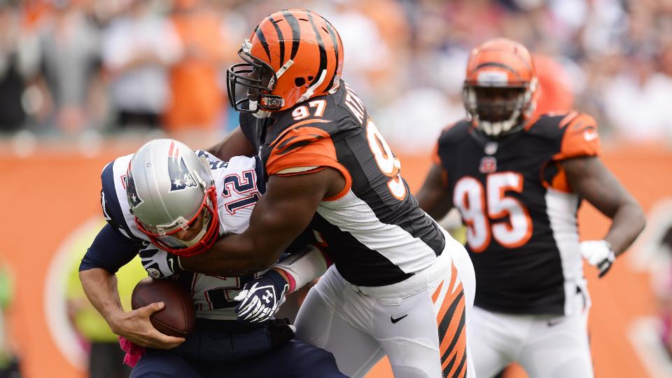 Bengals activate defensive tackle Geno Atkins from PUP list