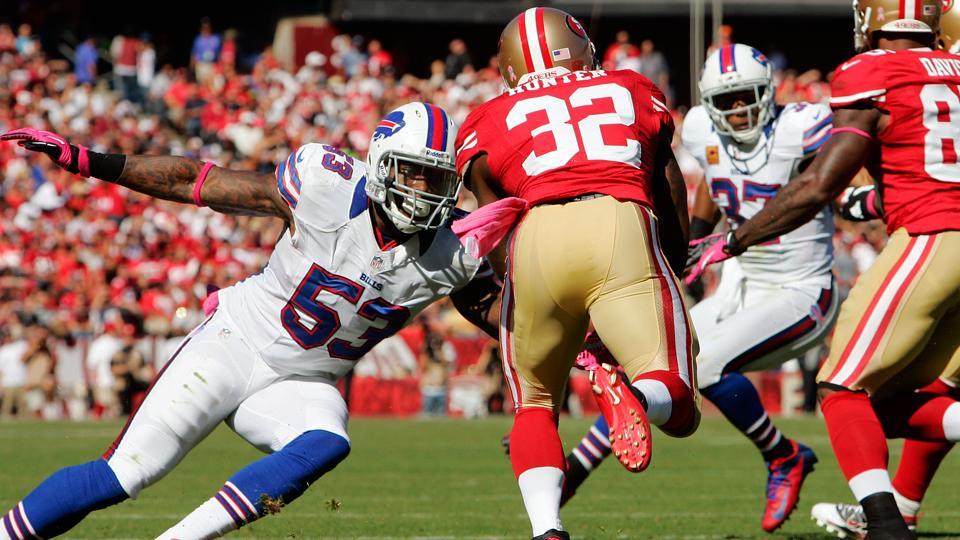 Bills linebacker Nigel Bradham suspended for season opener