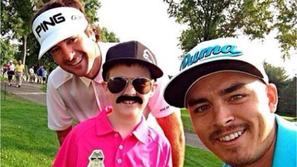 Bubba Watson tweets photo of Rickie Fowler with lil' Rickie Fowler impersonator